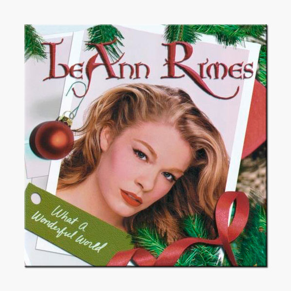 LeAnn Rimes - What A Wonderful World Album Art