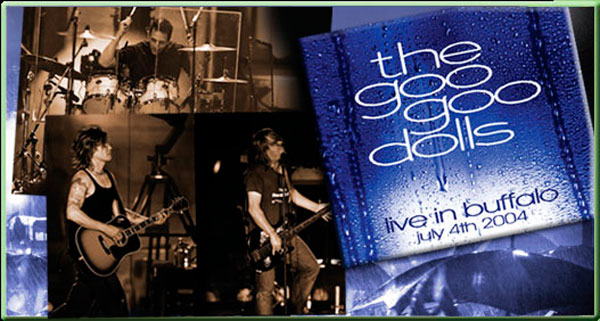 Goo Goo Dolls - Live In Buffalo - Packaging Design